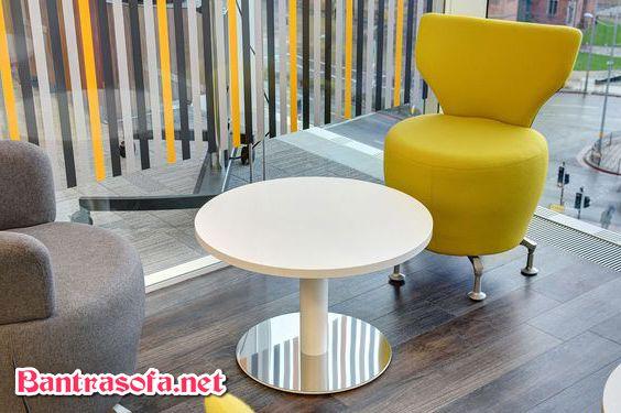 bàn ghế ngồi uống cafe văn phòng