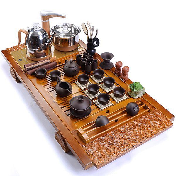 Khay trà điện thông minh tự vận hành.