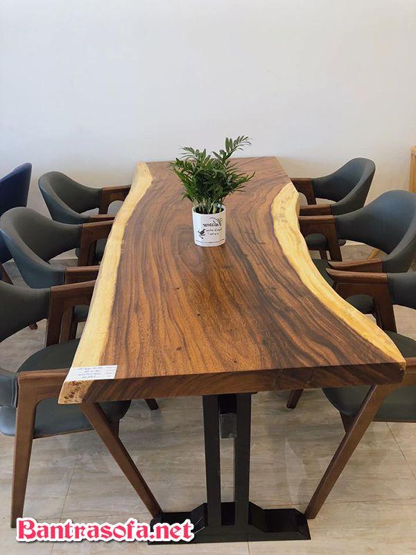 bàn họp bằng gỗ me tây