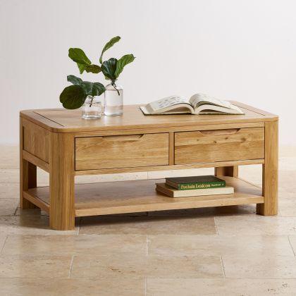 mặt bàn trà bằng gỗ sồi tự nhiên