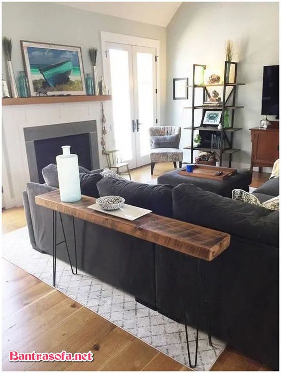 bàn dài cạnh ghế sofa