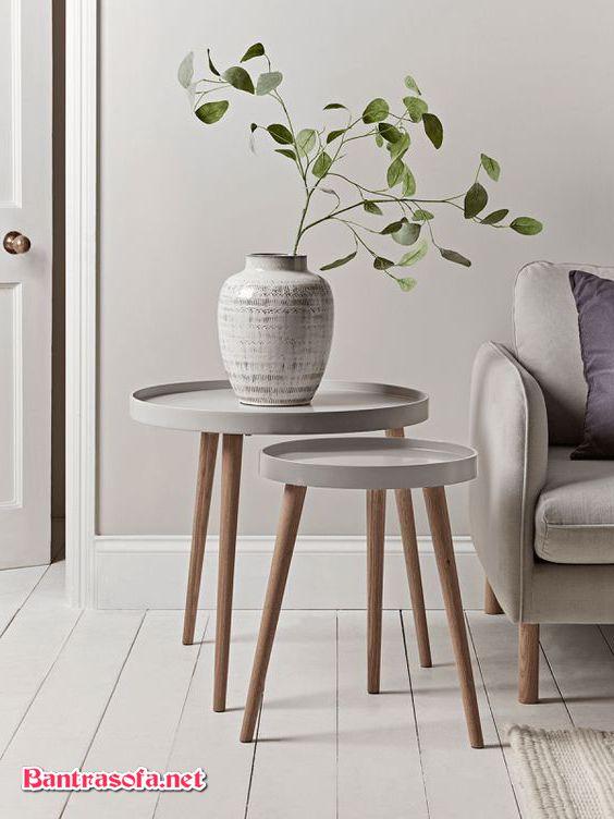 bàn trà bên cạnh ghế sofa hiệu quả