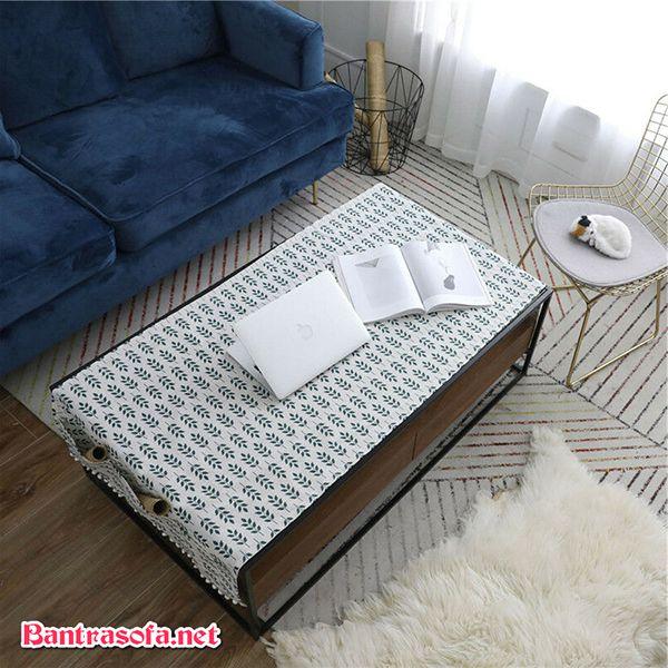 thảm trải bàn sofa