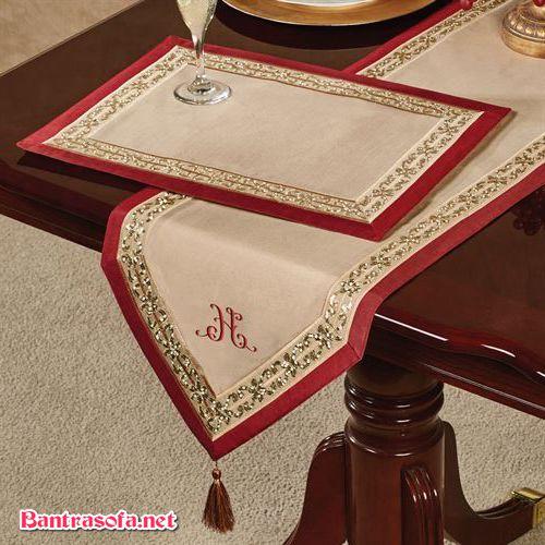 khăn trải bàn trà phong cách trung quốc