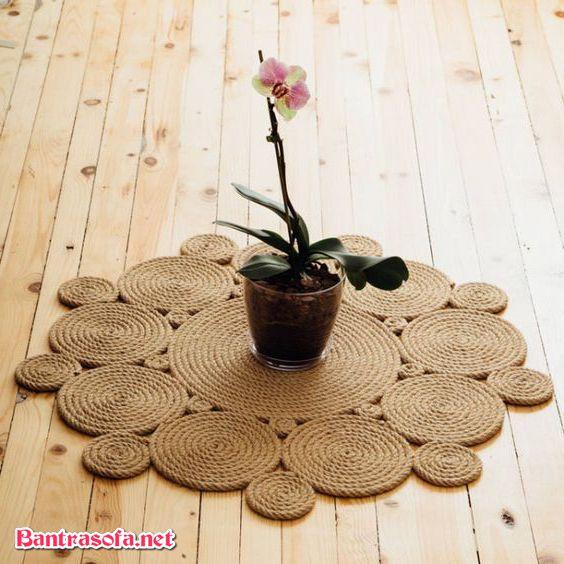 khăn trải bàn trà handmade