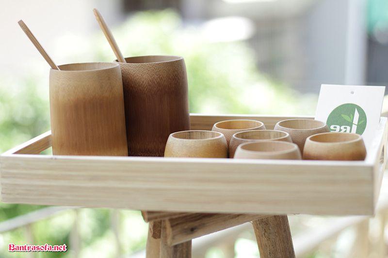 khay đựng ấm chén trà bằng gỗ