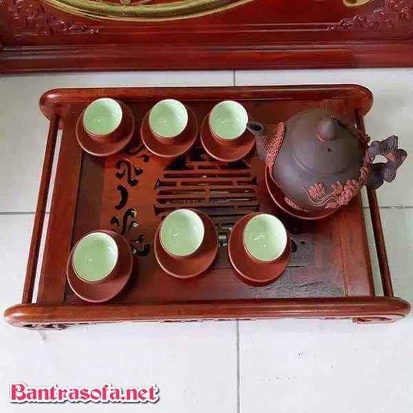 khay đựng trà bằng gỗ đẹp