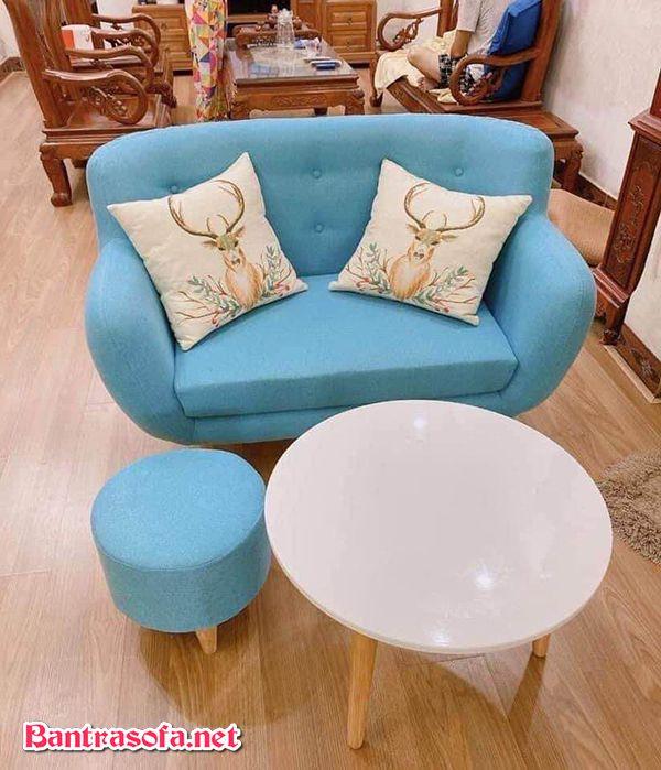 Nên dùng sofa vải nỉ hay da khi sofa vải nỉ có giá thành rẻ hơn? Mẫu này chỉ khoảng từ 4-6 triệu.
