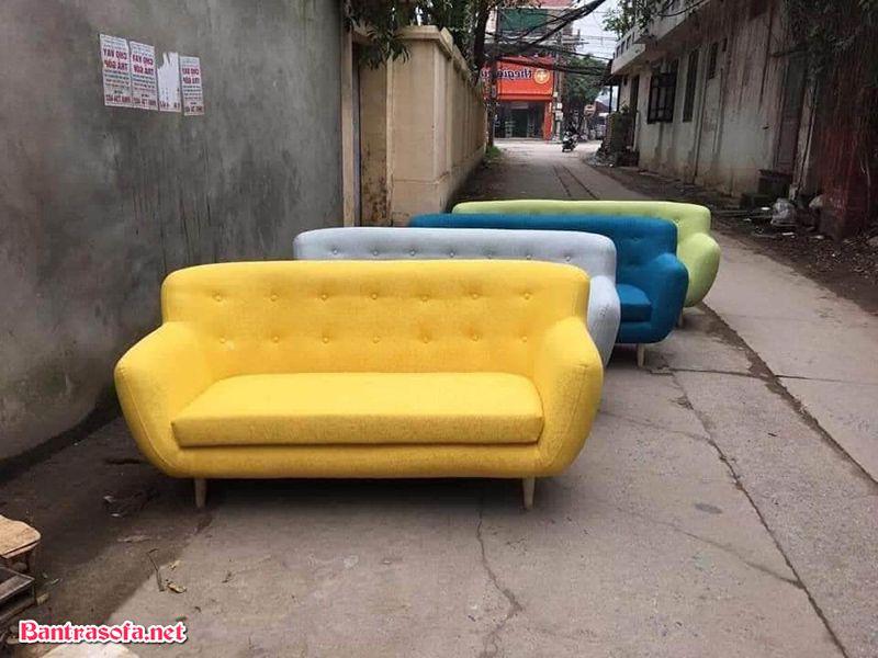 Nên mua sofa chất liệu gì nhiều màu sắc