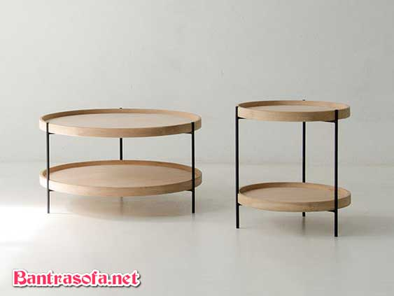 Kiểu dáng bàn trà 2 tầng tiện dụng của mẫu bàn trà Humla bắt mắt