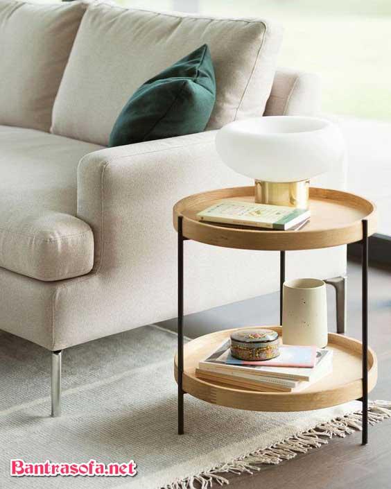 Kích thước bàn trà Humla nhỏ gọn dễ di chuyển và đa chức năng.