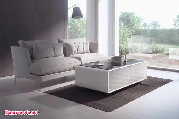 Không tiêu tốn quá nhiều điện với mẫu bàn sofa tủ lạnh.