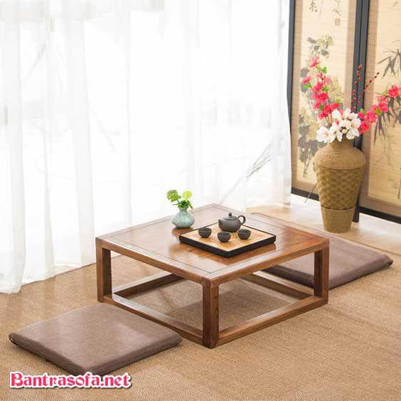 Mua bàn trà Nhật gỗ Xoan Đào ở đâu Hà Nội?