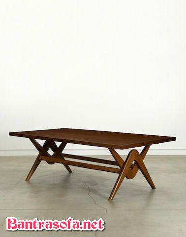 bàn trà sofa dài