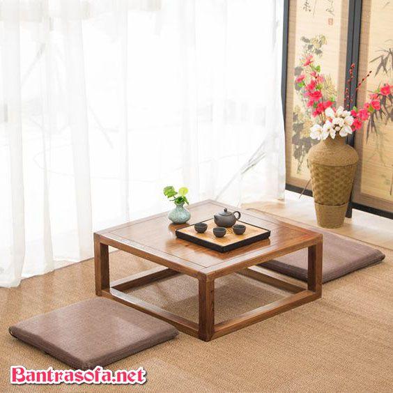 bàn trà phòng khách nhỏ đẹp