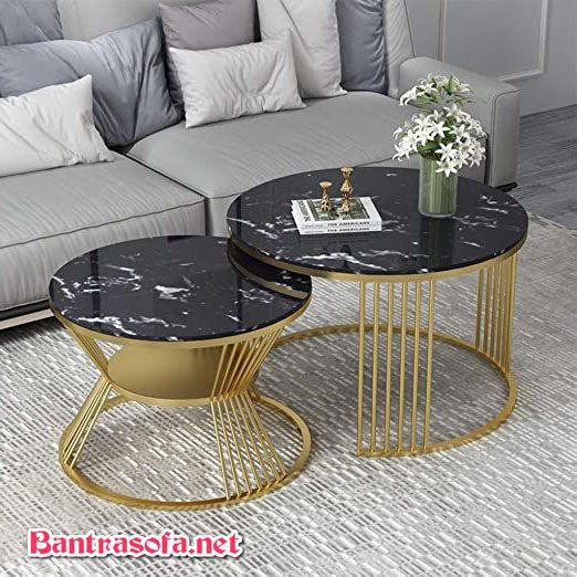 bàn trà phòng khách chung cư nhỏ đẹp