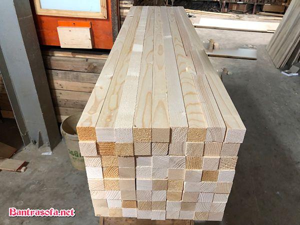 giá mặt bàn gỗ thông