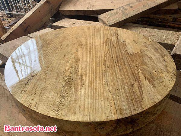 mặt bàn gỗ thông nàng
