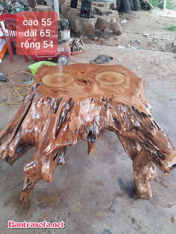 mặt bàn trà gỗ xá xị