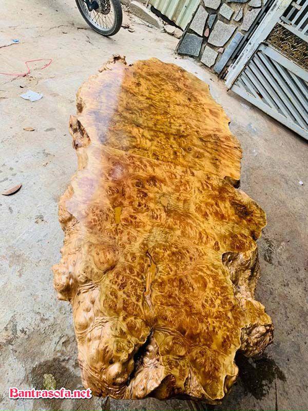 bàn trà gỗ xá xị dài