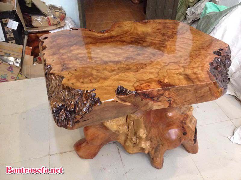 mặt bàn gỗ xá xị vuông