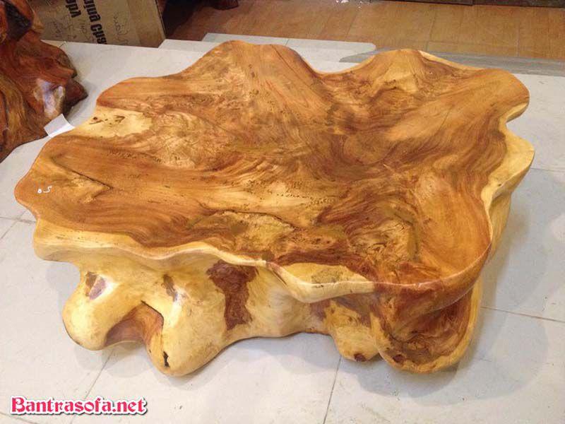 mặt bàn gỗ xá xị đẹp size lớn