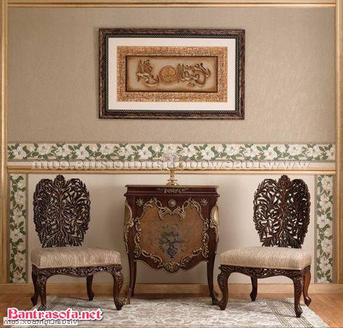 bộ bàn ghế kẹp trà phong cách hoàng gia