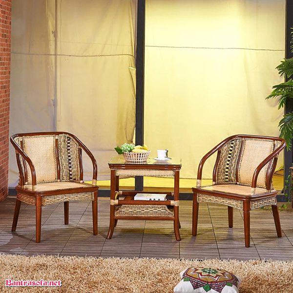 bộ bàn ghế kẹp trà nhà nghỉ